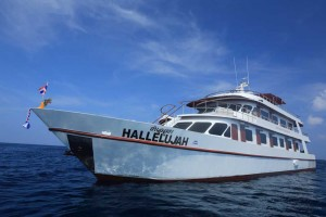 MV Hallelujah Similan Islands