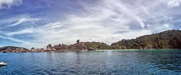 Beach at Similan Island no. 8