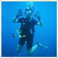 Diving in the Similan Islands