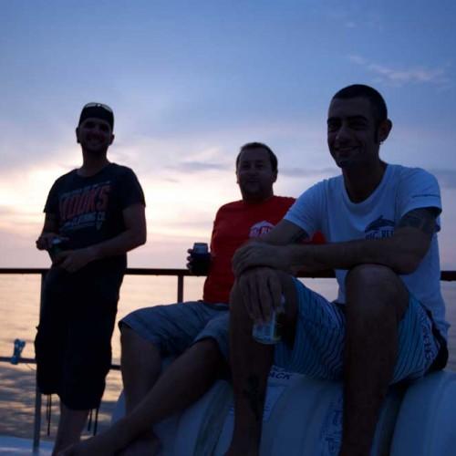 Vince, Neil and Dani