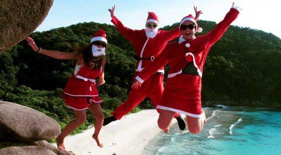 Christmas diving in the SImilan Islands