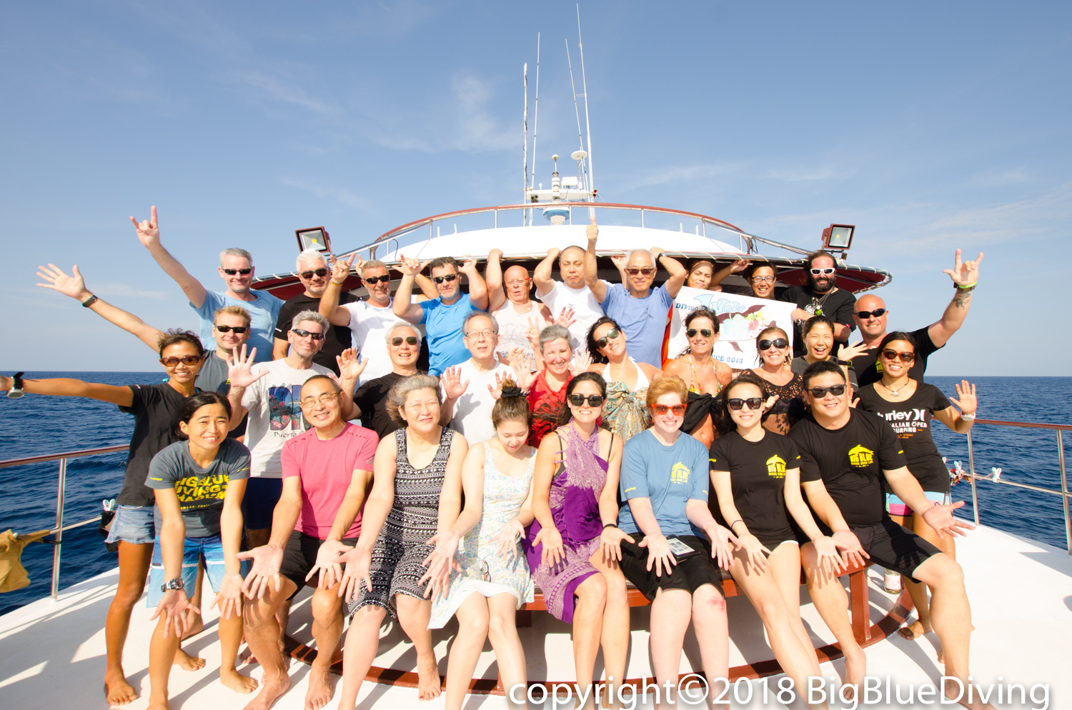 Scuba Divers on Similans Liveaboard