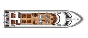 MV Hallelujah Upper Deck Plan
