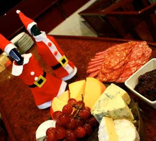 Christmas Food on the MV Hallelujah