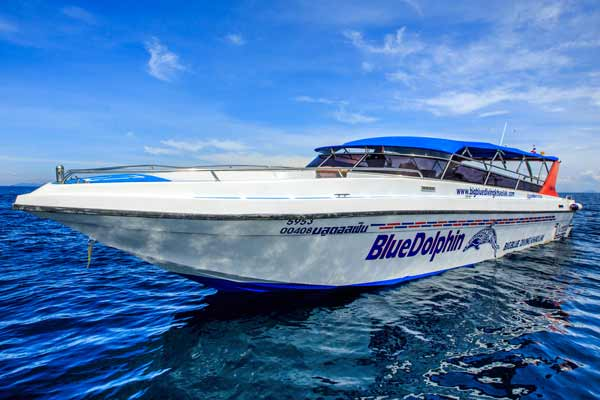 Similan Islands Diving Day trip speedboat the Blue Dolphin
