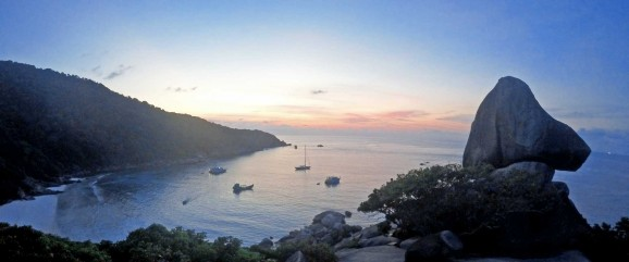 Sunset Similan Islands