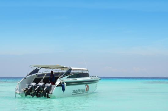 speed boat 7 seas